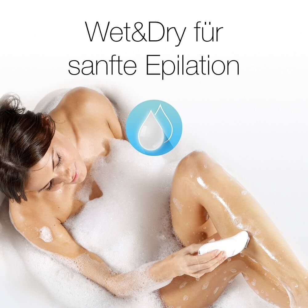 Epilierer Wet and Dry