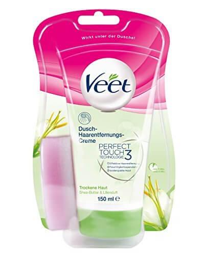 Veet Dusch-Haarentfernungscreme Test